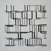 Acrylique sur papier, 45 x 45 cm, 2003