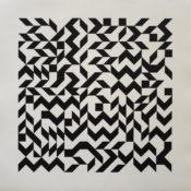 Acrylique sur papier, 50 x 50 cm, 2015