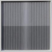 Peinture, fil, laque sur polycarbonate, 40 x 40 cm, 2017