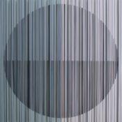 Peinture, encre, laque sur polycarbonate, 70 x 70 cm, 2015