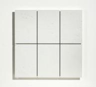 Acrylique sur bois, 43,4 x 43,4 x 1,9 cm, 2007