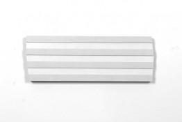 Acrylique sur bois (MDF mélaminé), 22 x 62,4 x 3 cm, 2013