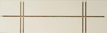 Acrylique sur contreplaqué, 39,5 x 12 x 3,3 cm, 2013