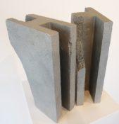 Aluminium, 29,5 x 19 x 9 cm (x 2 sculptures), 2014