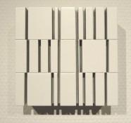 laque sur multiplex, 12 x 12,3 x 5 cm, 2015