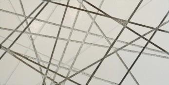 Laque sur aggloméré, 15,7 x 30,6 x 3,2 cm, 2015