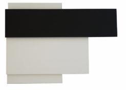 Acrylique sur bois (MDF mélaminé), 40 x 53,5 x 7,6 cm, 2005