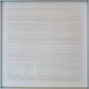Différents stylos sur papier aquarelle, 38,4 x 38,7 cm, 2010