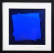 Dérivés de pigment sur feuilles de verre, 33 x 33 cm, 2016