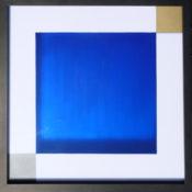 Dérivés de pigment sur feuilles de verre, 35 x 35 cm, 2015