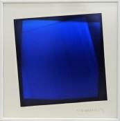 Dérivés de pigment sur feuilles de verre, 30 x 30 cm, 2015
