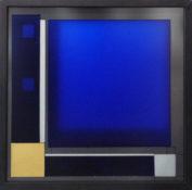 Dérivés de pigment sur feuilles de verre, 41 x 41 cm, 2016