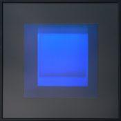 Dérivés de pigment sur feuille de verre, 30 x 30 cm, 2014-2015