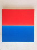 Acrylique et vernis sur toile, 40 x 40 cm, 2016