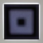Projection lumineuse sur matière adhésive, 80 cm x 80 cm, 2016