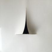 Papier chromolux, feutre, aimant et épingles, 20 x 20 cm, 2017