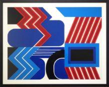 Sérigraphie sur papier n°23/100, 60 x 75 cm encadrée, 1960