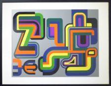 Bon à tirer, 73 x 96,5 cm encadrée, 1974