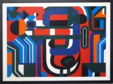 Sérigraphie sur papier n°15/100, 62 x 80,5 cm encadrée, circa 1960