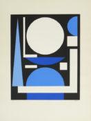 Sérigraphie n°38/150, 69 x 52 cm encadrée, 1960