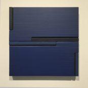 Acrylique sur toile marouflée, 30 x 30 cm, 2002