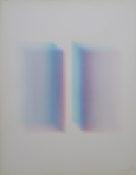 Aquarelle sur papier, 70,5 x 57,5 cm, 1972