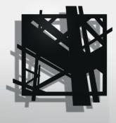 Découpe sur planche recouverte d'acrylique, 60 x 60 cm, 2016