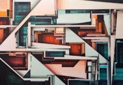 Peinture acrylique sur toile de lin - 130 x 89 cm - 2018